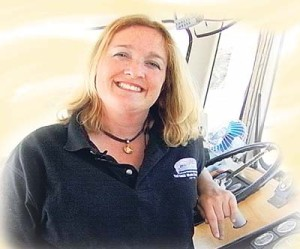Angel Island Ferry President & CEO Captain Maggie McDonogh