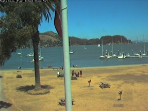 Angel Island BBQ area in Ayala Cove - your paradise island in the middle of San Francisco Bay.