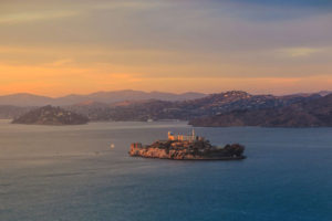 Escape to Alcatraz! Get an up-close view of the world's most famous federal penitentiary. You'll also see Tiburon, Belvedere, and Angel Island.